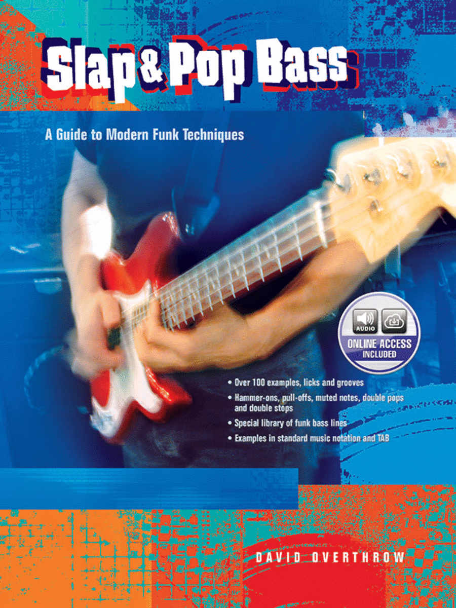 Slap & Pop Bass - Book/CD