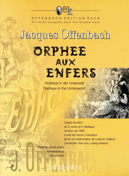 Orphee aux Enfers (Critical Edition)