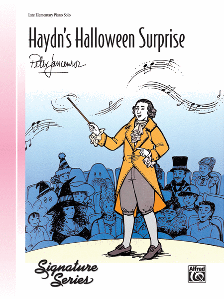 Haydn's Halloween Surprise