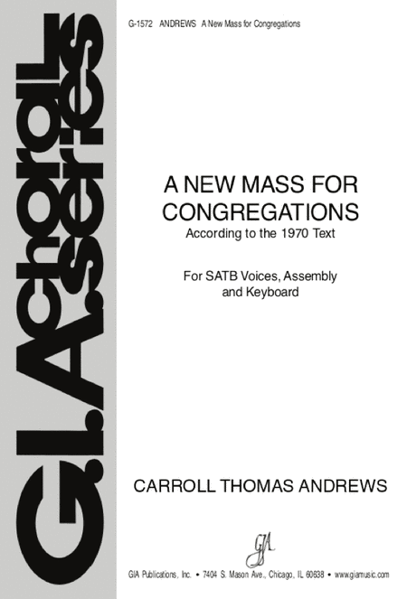 A New Mass for Congregations