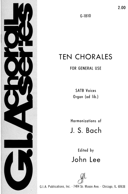 Ten Chorales for General Use