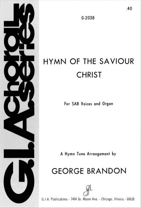Hymn of the Saviour Christ