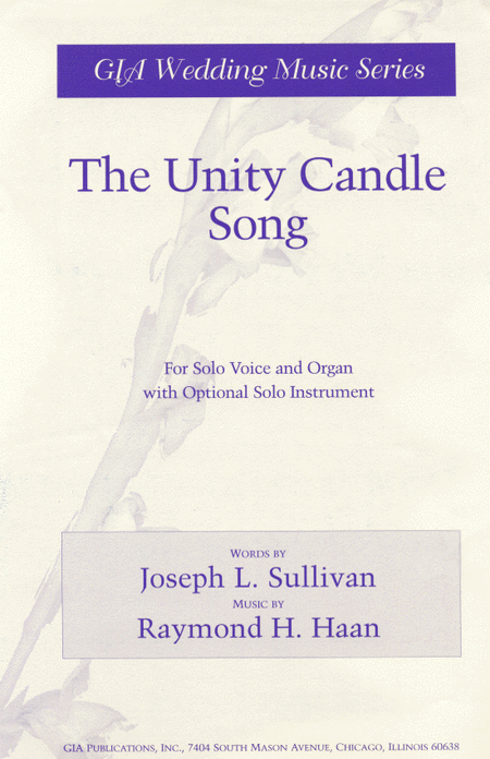 The Unity Candle Song