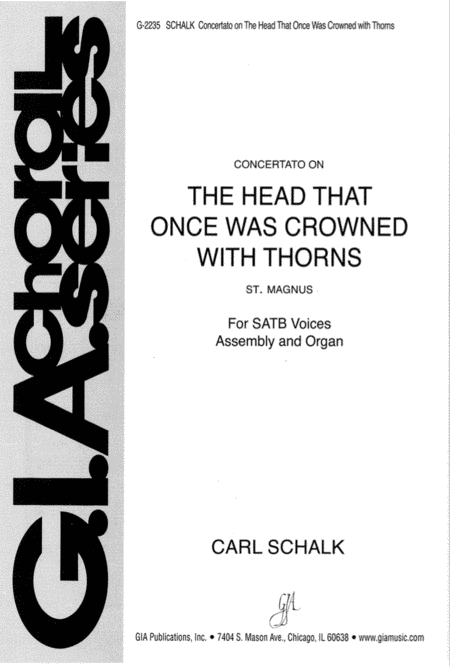 The Head That Once Was Crowned with Thorns