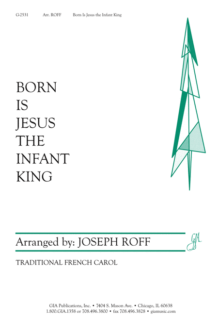 Born Is Jesus, the Infant King