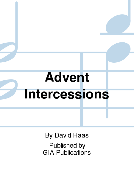 Advent Intercessions