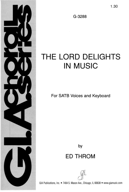 The Lord Delights in Music