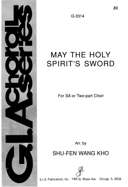 May the Holy Spirit's Sword