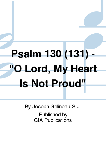 Psalm 130 (131) -