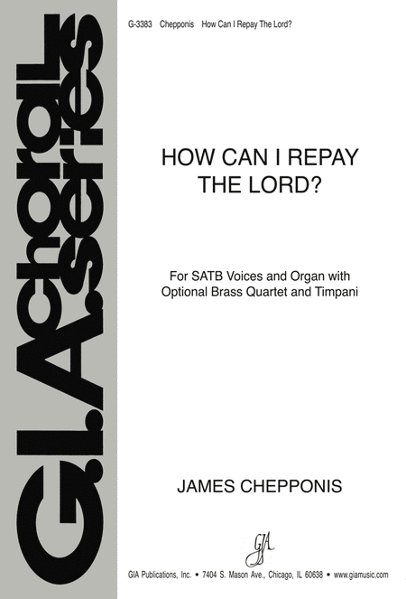 How Can I Repay the Lord