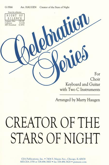 Creator of the Stars of Night