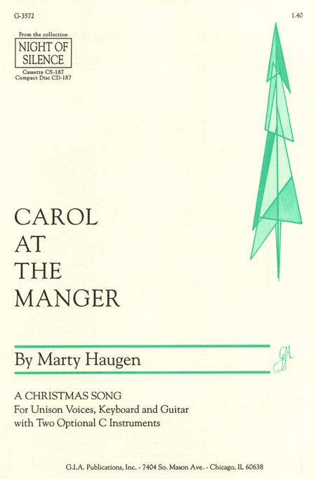 Carol at the Manger