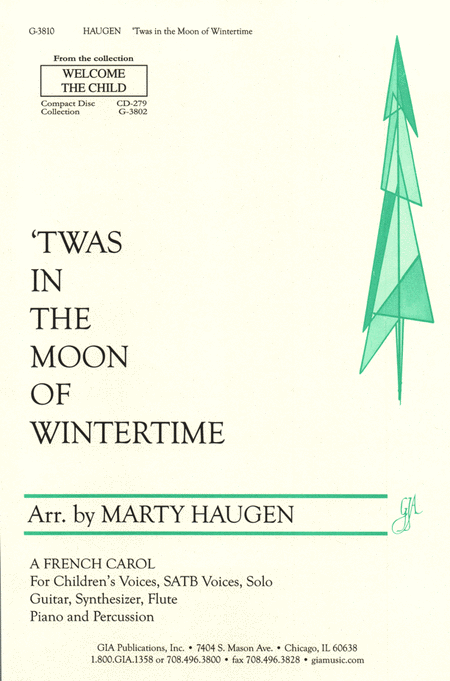 'Twas in the Moon of Wintertime
