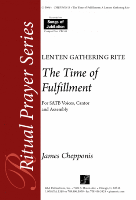 The Time of Fulfillment: A Lenten Gathering Rite