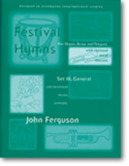 Festival Hymns for Organ, Brass, and Timpani - Set 3