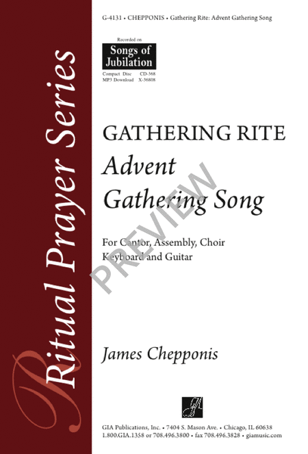 Advent Gathering Song