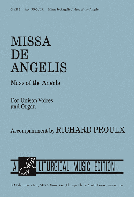 Missa de Angelis/Mass of the Angels - Choral Edition
