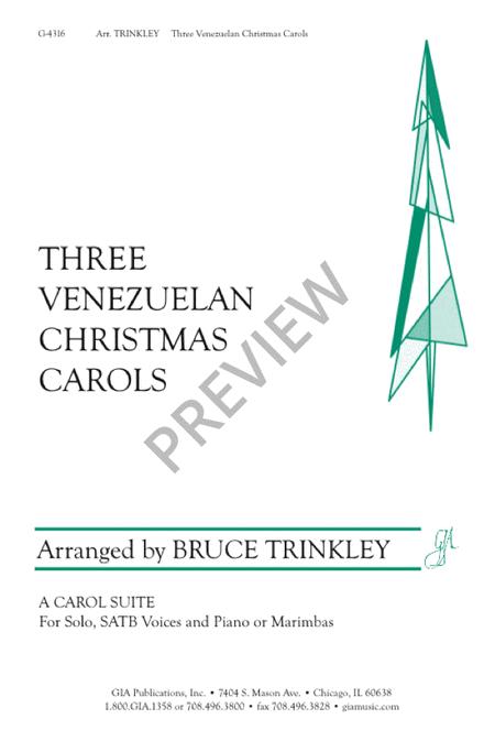 Three Venezuelan Christmas Carols