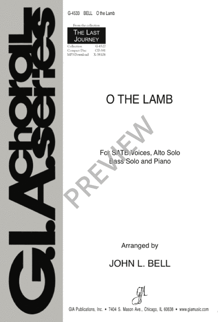 O the Lamb