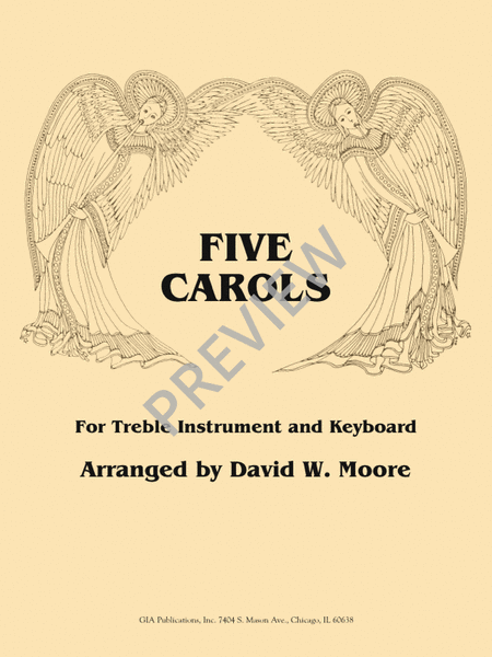 Five Carols for Treble Instrument and Keyboard