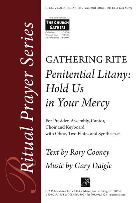 Penitential Litany: Hold Us in Your Mercy