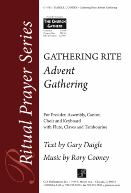 Advent Gathering: Gathering Rite