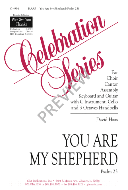 You Are My Shepherd