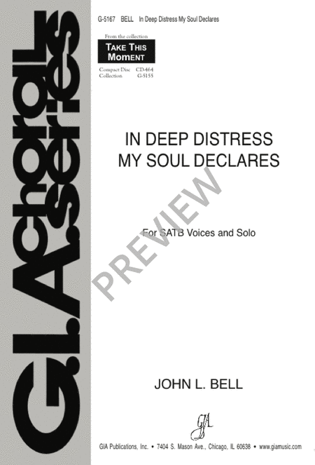 In Deep Distress My Soul Declares