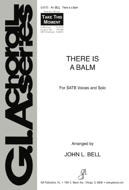 There Is a Balm