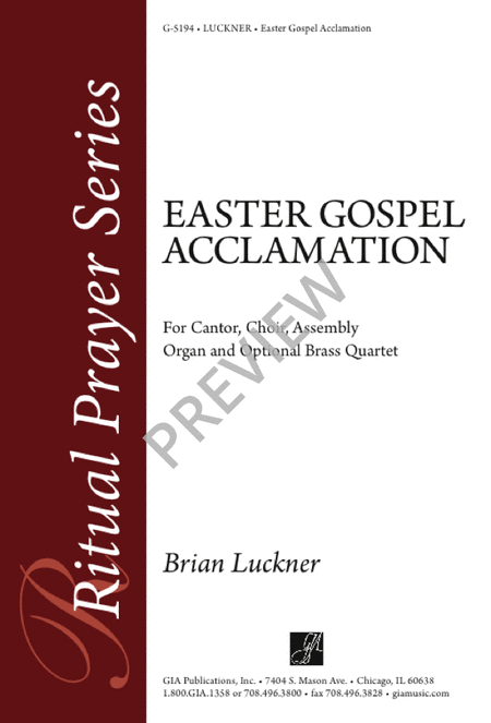 Easter Gospel Acclamation