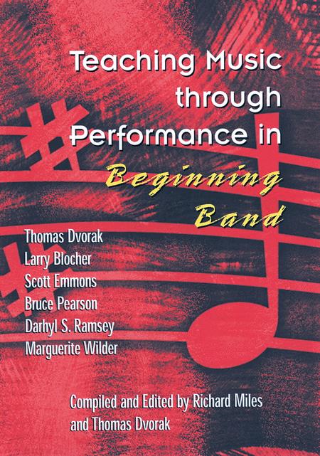 teaching music through performance in beginning band sheet music by tom dvorak richard miles. Black Bedroom Furniture Sets. Home Design Ideas