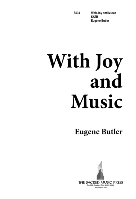 With Joy and Music