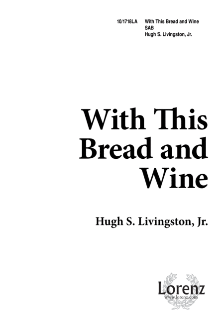 With This Bread and Wine