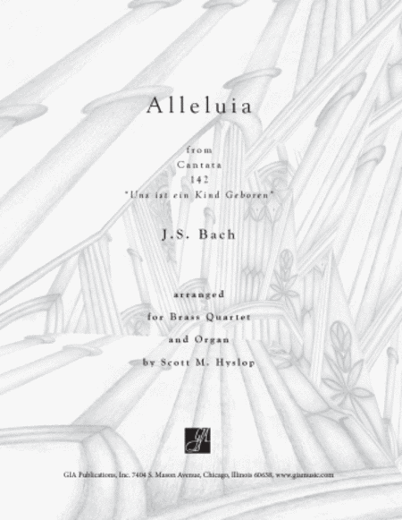 Alleluia from Cantata 142