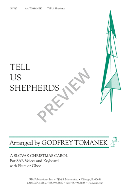 Tell Us Shepherd