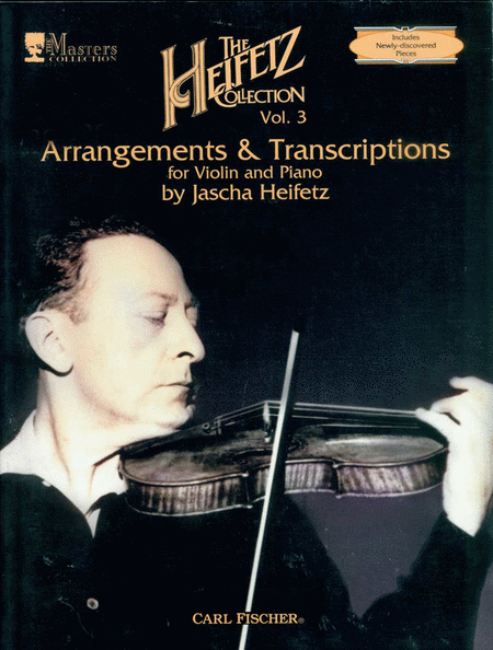 The Heifetz Collection, Volume 3