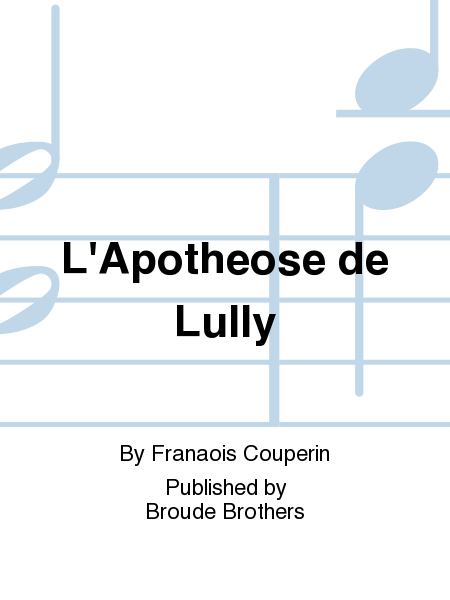 L'Apotheose de Lully