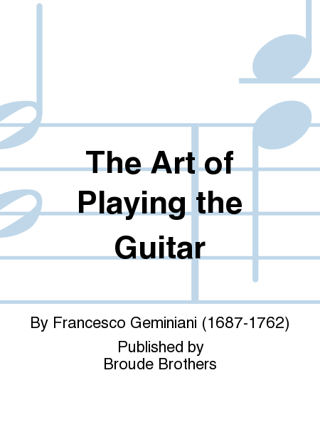The Art of Playing the Guitar
