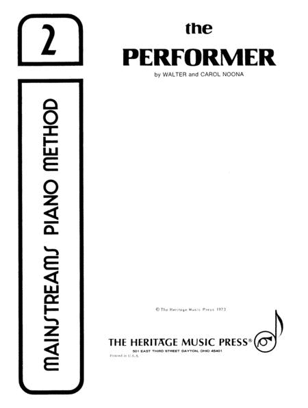 Mainstreams - The Performer 2