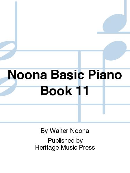 Noona Basic Piano Book 11