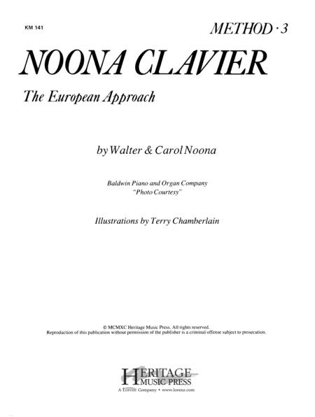 Noona Clavier Method Book 3