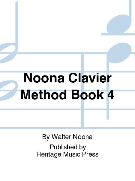Noona Clavier Method Book 4