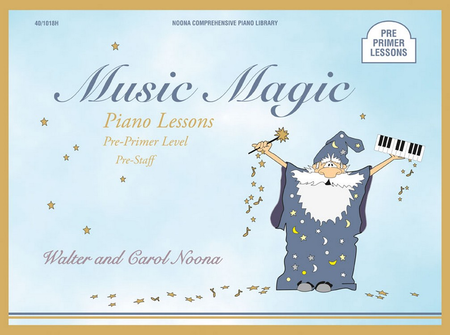 Noona Comprehensive Music Magic Piano Lessons Pre-Primer