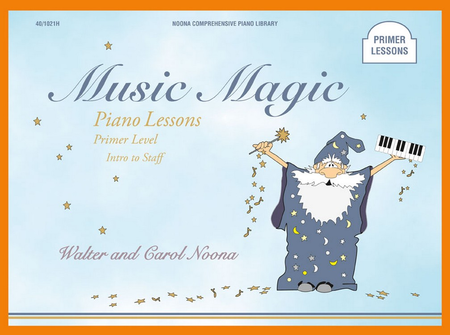 Noona Comprehensive Music Magic Piano Lessons Primer
