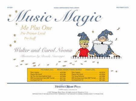 Noona Comprehensive Music Magic Piano Me + 1 Duets Pre-Primer