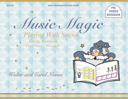 Noona Comprehensive Music Magic Piano Playing with Sound Activity Workbook Pre-Primer