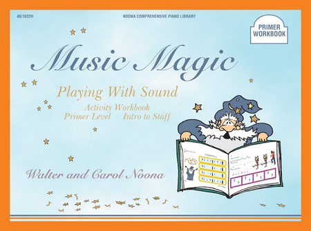 Noona Comprehensive Music Magic Piano Playing with Sound Activity Workbook Primer