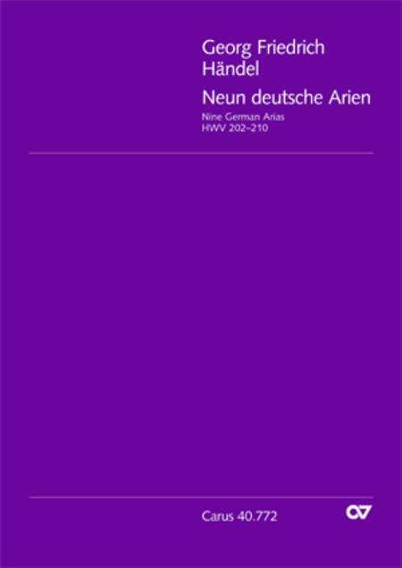 Neun deutsche Arien