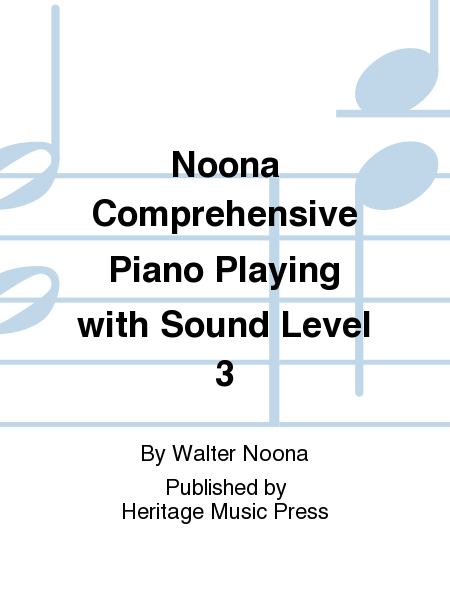 Noona Comprehensive Piano Playing with Sound Level 3