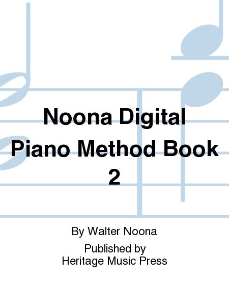 Noona Digital Piano Method Book 2